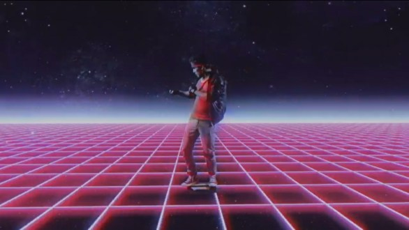 Kung Fury time surfing