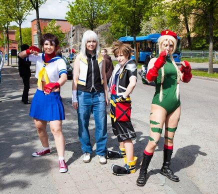 Street Fighter and Kingdom Hearts Cosplay