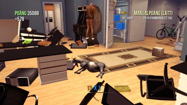 Goat Simulator screenshot What happened?!