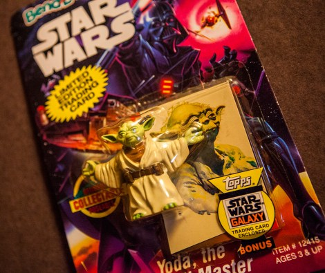 Star Wars Bend-Em toy Yoda