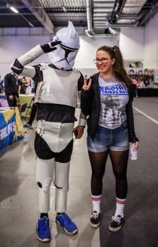 Clone Trooper Cosplay at Comic Con Malmö 2015