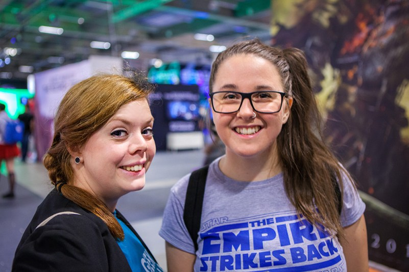 Happy Geeky Gals at Comic Con Malmö 2015