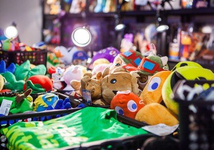 Plushies at Comic Con Malmö 2015
