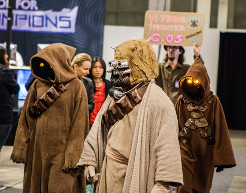 Sand people cosplay