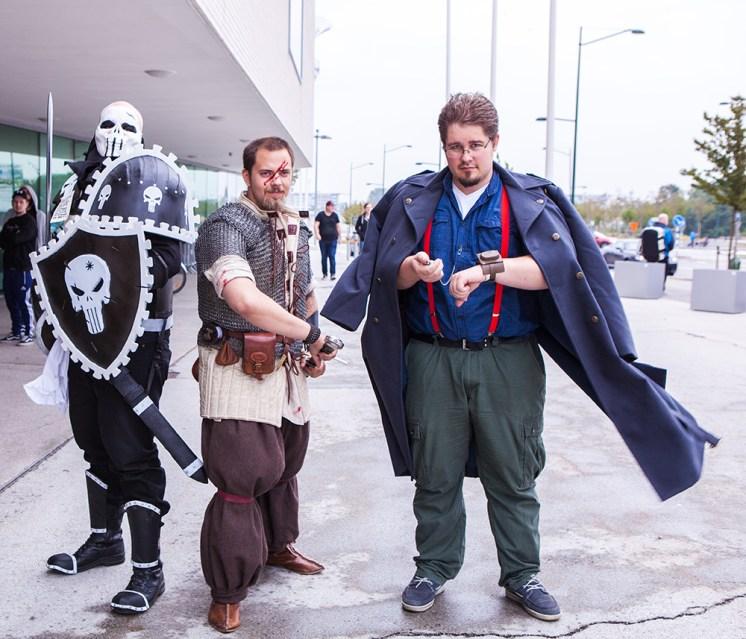 Warhammer cosplayers at Comic Con Malmö 2015