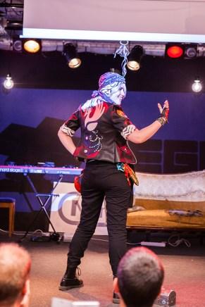 Cosplayers at Retrospelsfestivalen 2015