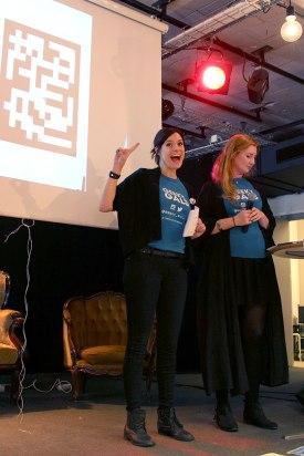 Geeky Gals Heidi & Mona
