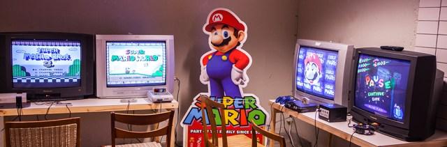 Mario at Retrospelsfestivalen 2015
