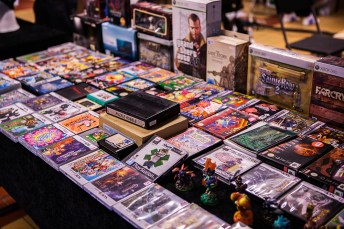 Retro Games for sale at Retrospelsfestivalen 2015