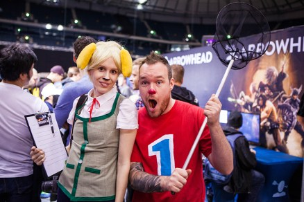 Animal Crossing cosplay - ComicCon Gamex 2015