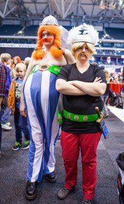 Asterix & Obelix cosplay - ComicCon Gamex 2015
