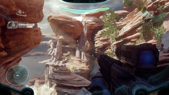 Halo 5 Guardians - Enjoying the sceneries 3