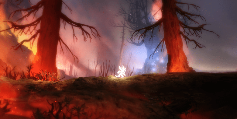 Ori & The Blind Forest - fire