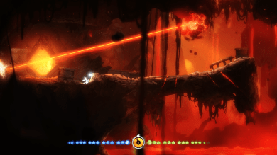 Ori & The Blind Forest - watch out for lasers