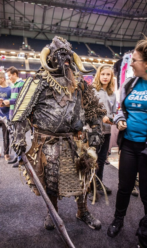 Scary cosplayer - ComicCon Gamex 2015