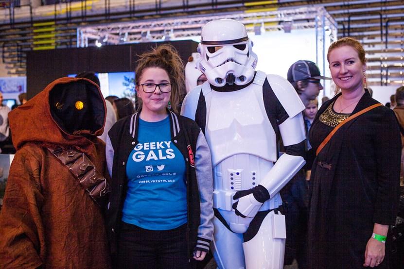 Star Wars cosplayers- ComicCon Gamex 2015