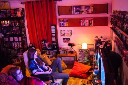 Geeky Gals Gathering gaming time