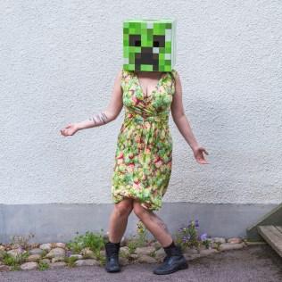 Minecraft Creeper WTF