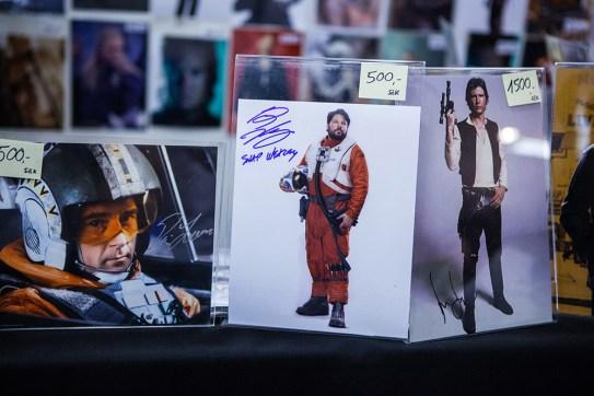 Autographs at Sci-Fi World
