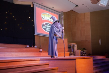 Cosplay competition - Gandalf