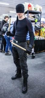 Daredevil cosplay at Sci-Fi World