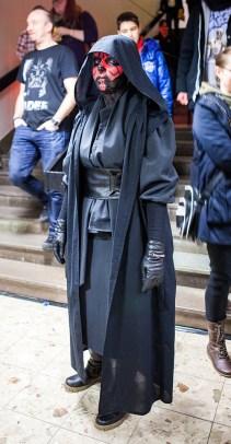 Darth Maul cosplay at Sci-Fi World