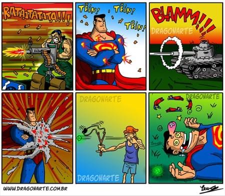 Superman VS Slingshot
