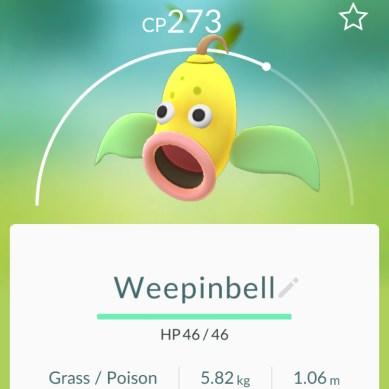 Weepinbell - Pokémon Go