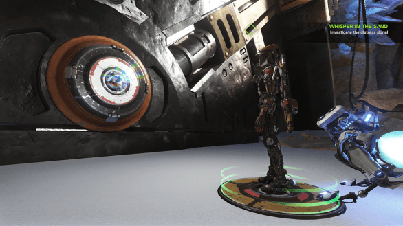Using a core in ReCore