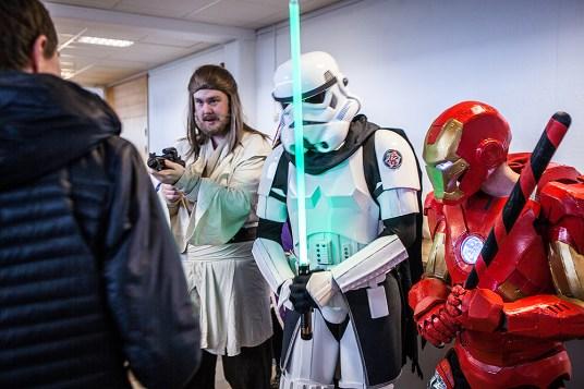 Star Wars, Marvel and a DC bat - Sci-Fi World
