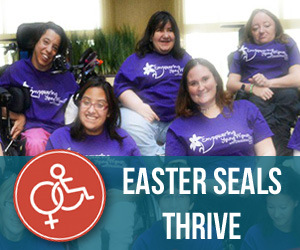 Easter Seals Thrive ad