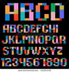stock-vector-alphabet-and-numbers-made-of-plastic-building-blocks-104254532