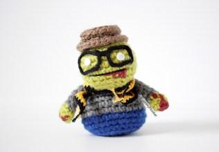 Hipster zombie copy