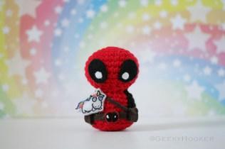 Deadpool & unicorn copy