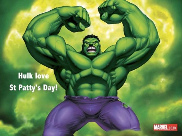Hulk St. Patrick's Day