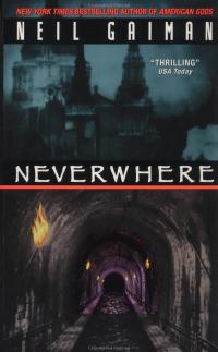 Neverwhere cover Neil Gaiman