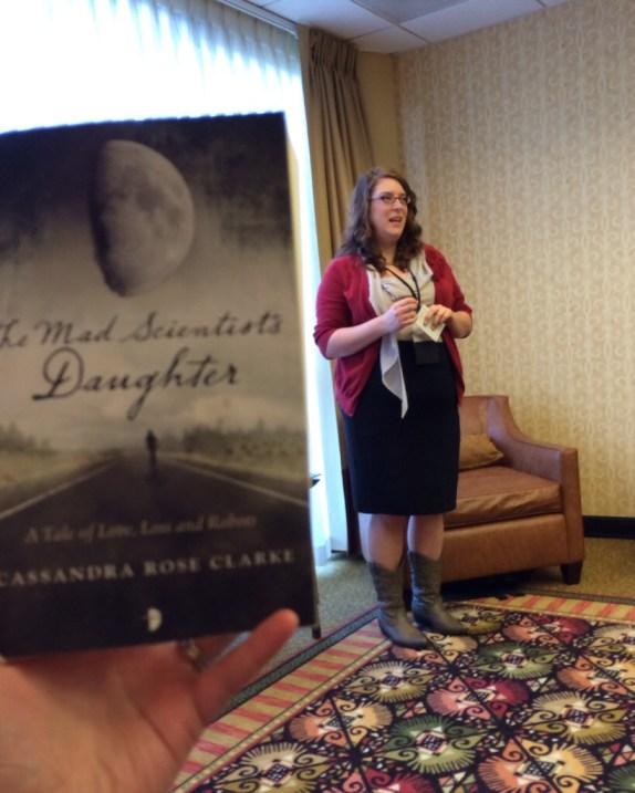 Cassandra Rose Clarke reading