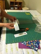 LisaKaren cutting bookmarks