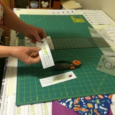 LisaKaren cutting bookmarks