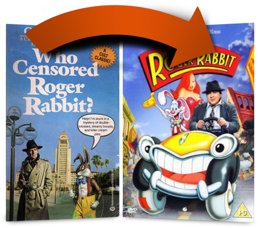 Book to Movie: Who Censored Roger Rabbit