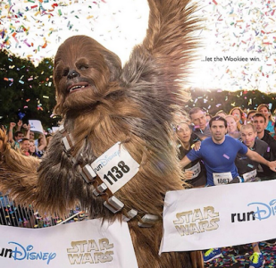 RunDisney Star Wars Half Marathon Let the Wookie Win