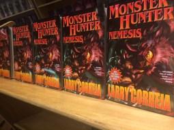 Shelf of Monster Hunter Nemesis