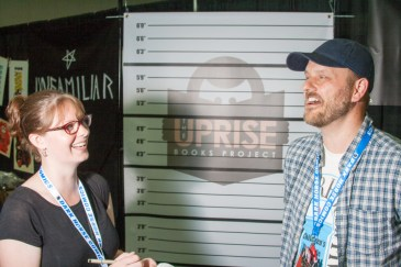 Our interview with Justin Stanley, President of The Uprise Books Project.