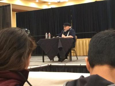 George R. R. Martin at Norwescon
