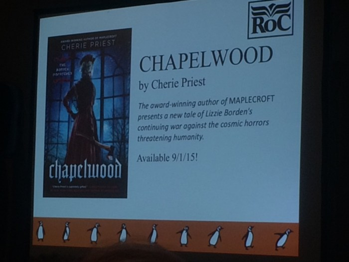 Upcoming book Chapelwood