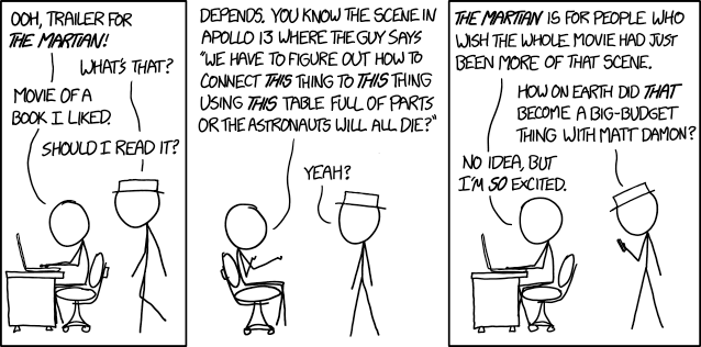 XKCD as excited as we are.