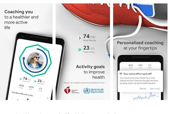 Google fit best fitness app for android wear