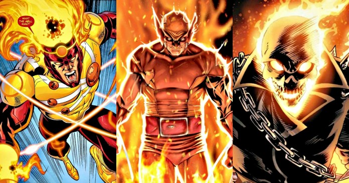 10 Marvel Heroes Who Have Fire-Based Superpowers – Geeky Reporter
