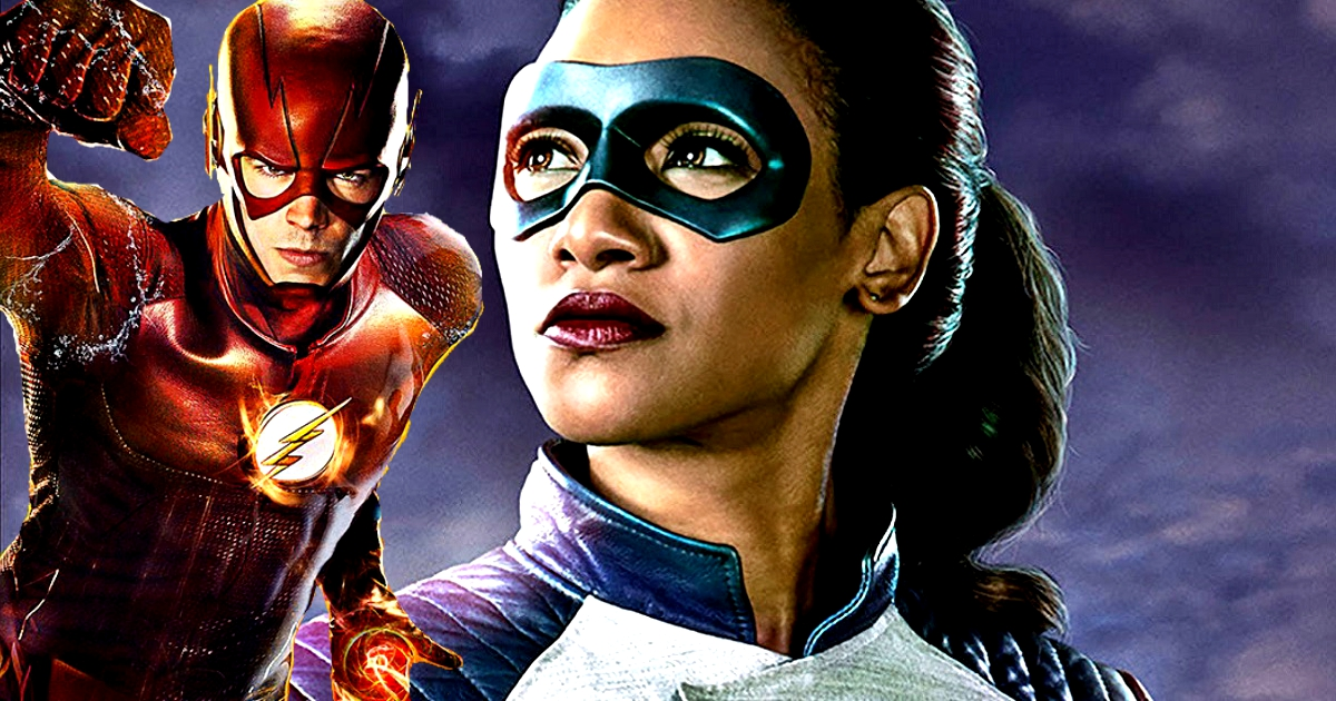 A First look At Iris West's Flash Suit