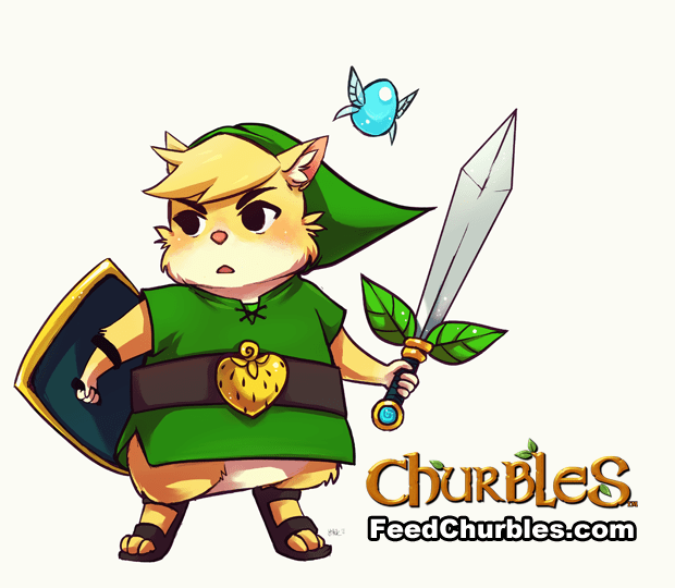 Churbles - Adorable Zelda-Like Action RPG with Anime Style Hamsters